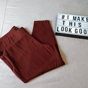 Torrid Slim Fit Pixie Clay-All-Nighter Ponte Pant